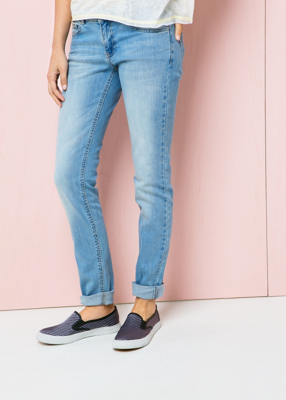 Slim-fit alice  jeans | MANGO