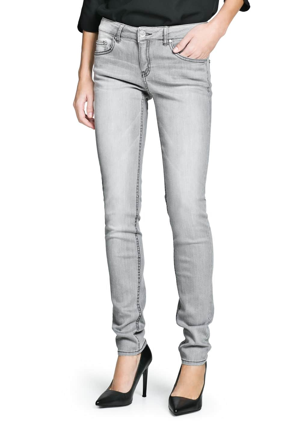 Slim-fit alice jeans | MANGO MAN