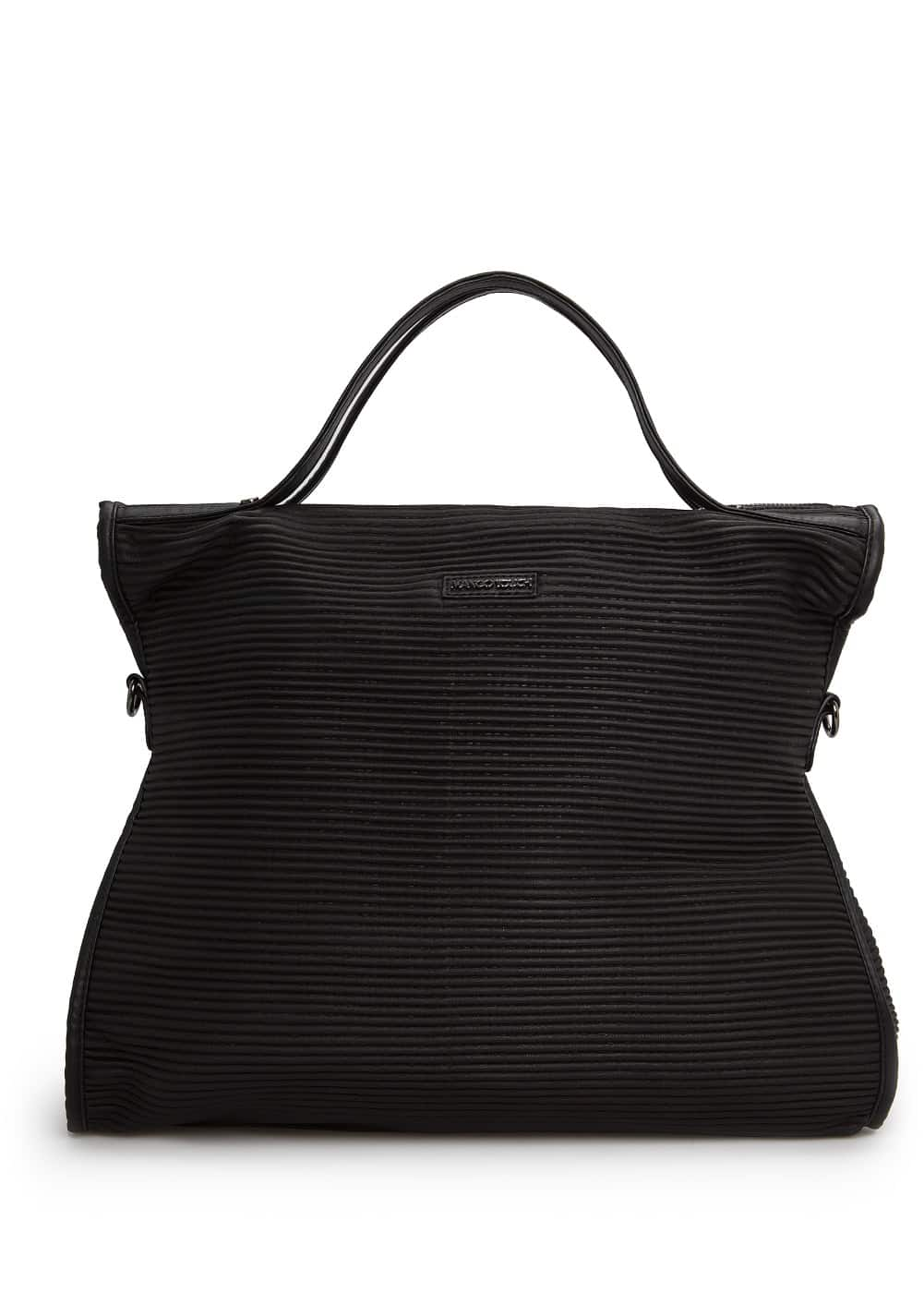 Textured tote bag | MANGO