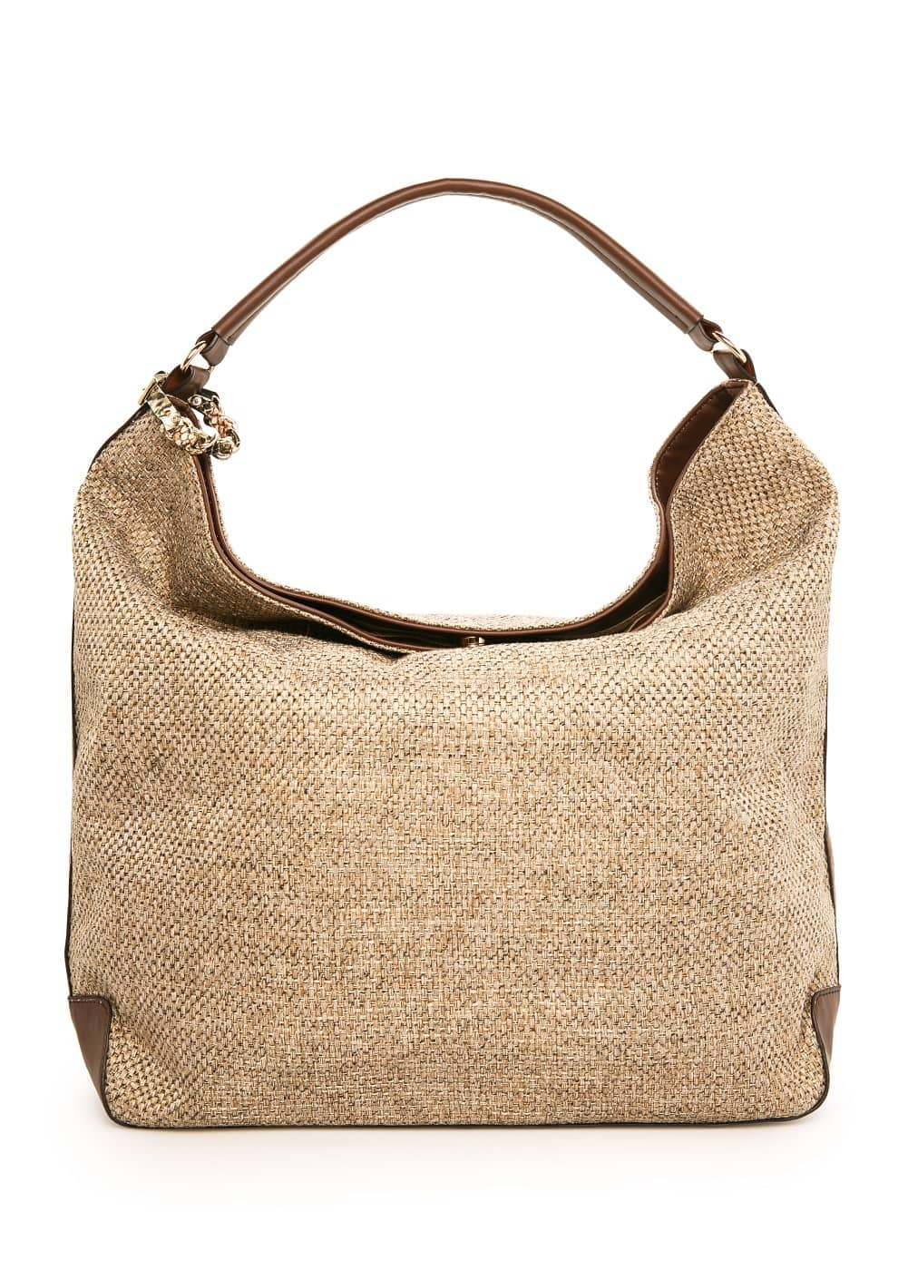 Jute hobo bag | MANGO