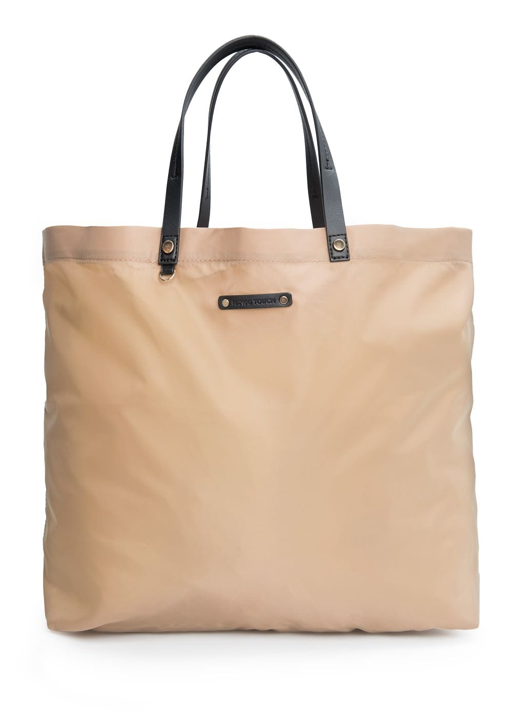 Bolso shopper nylon | MANGO