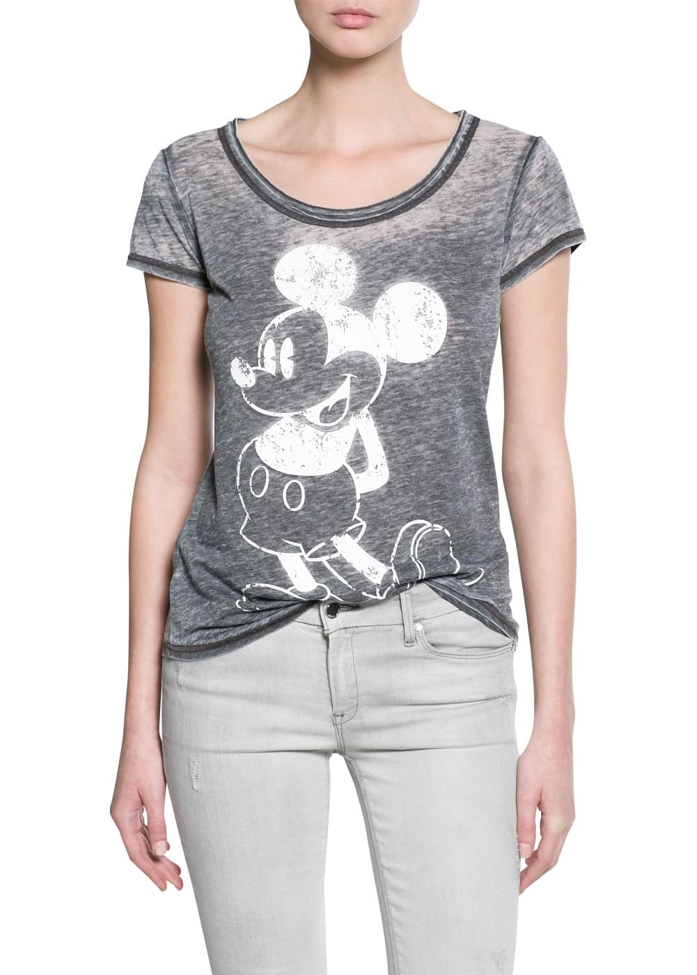 Minnie and mickey t-shirt | MANGO