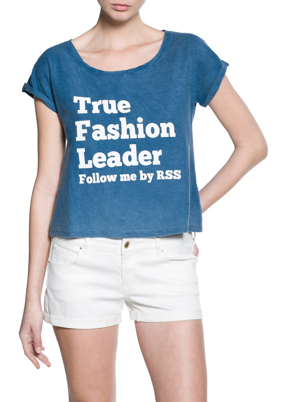 Fashion leader t-shirt | MANGO