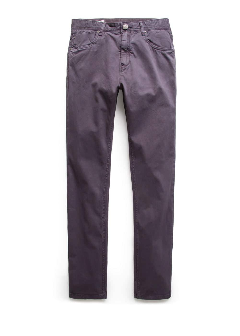 Slim-fit 5 pocket trousers
