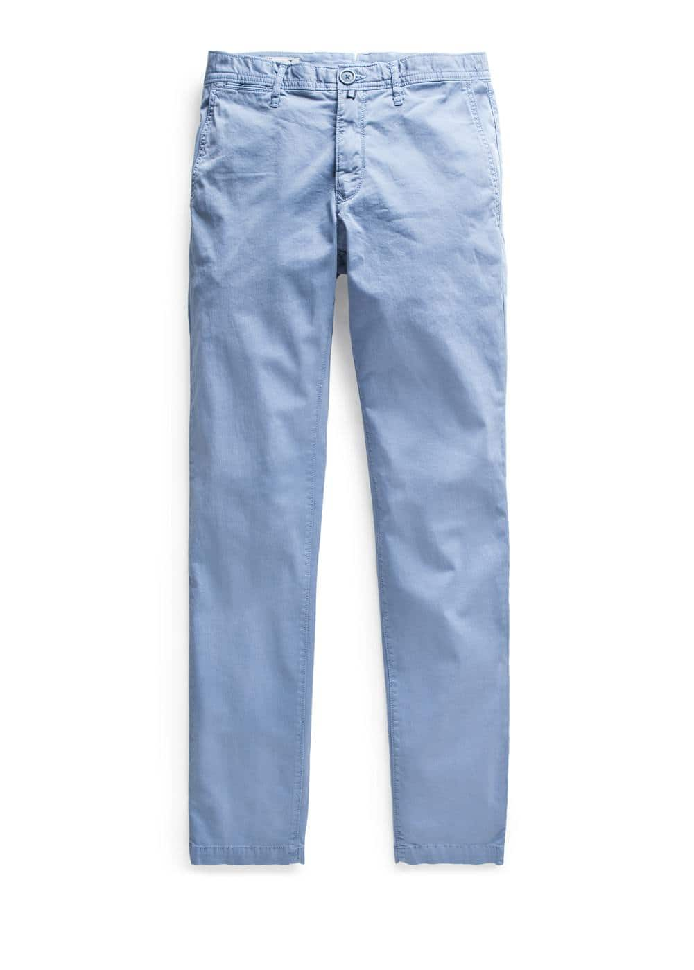 Chino slim-fit garment-dyed