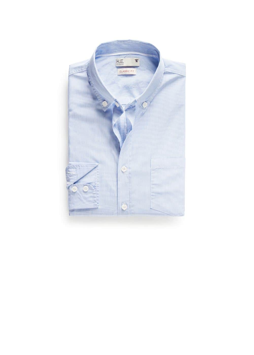 Camisa classic-fit mil rayas