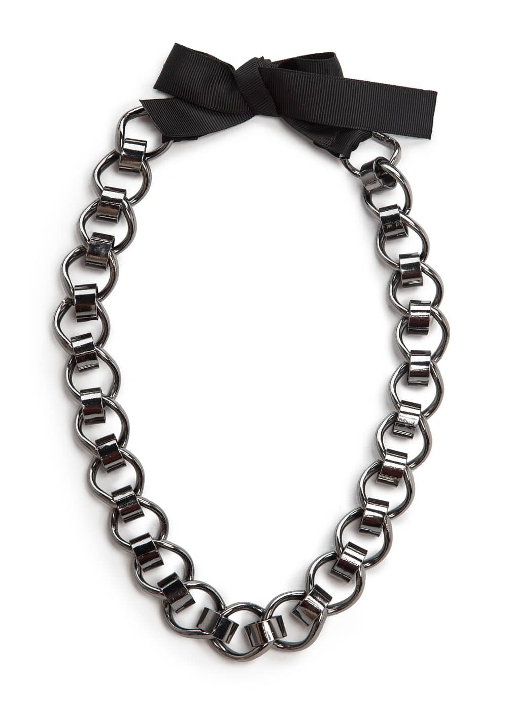 Linked chain choker