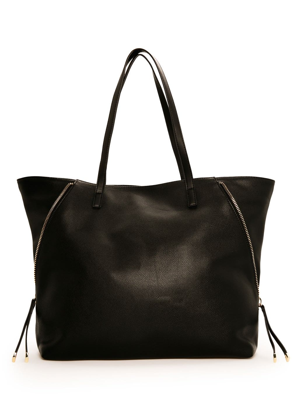 Zip shopper bag | MANGO