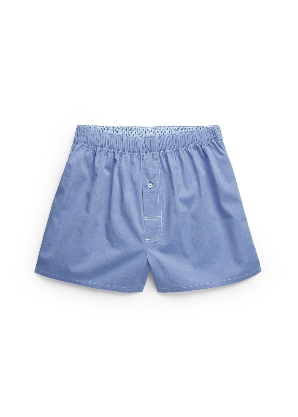 Check cotton boxer shorts