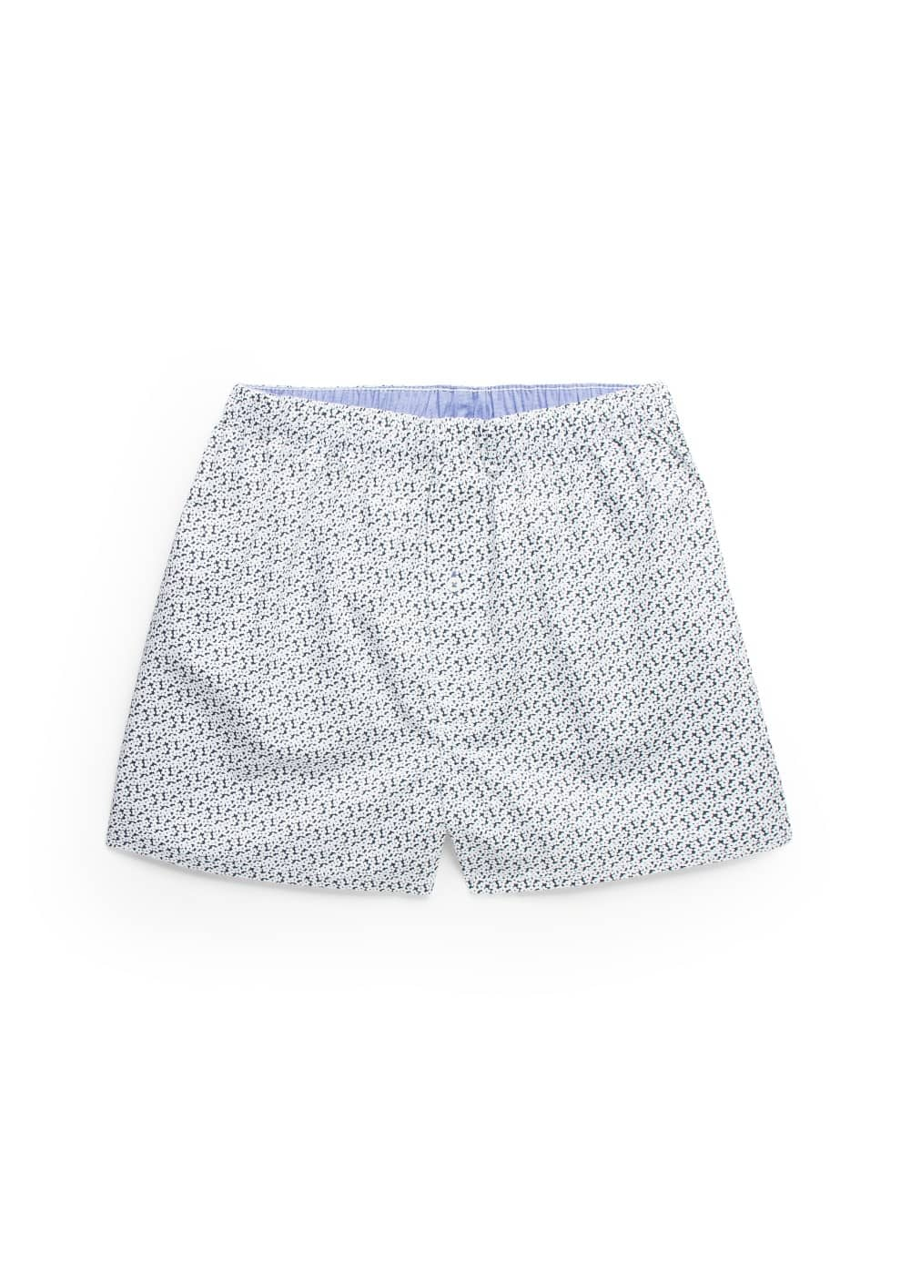 Liberty print cotton boxer shorts | MANGO