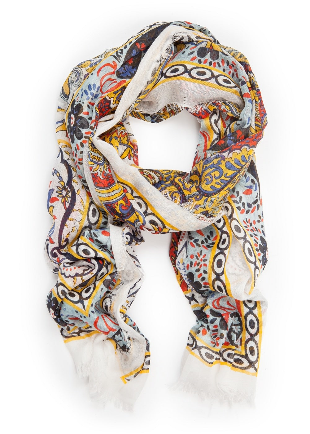 Schal mit Paisley-Muster