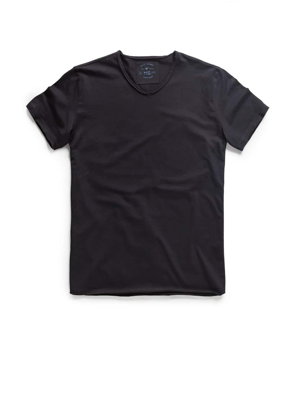 Raw-edge t-shirt | MANGO