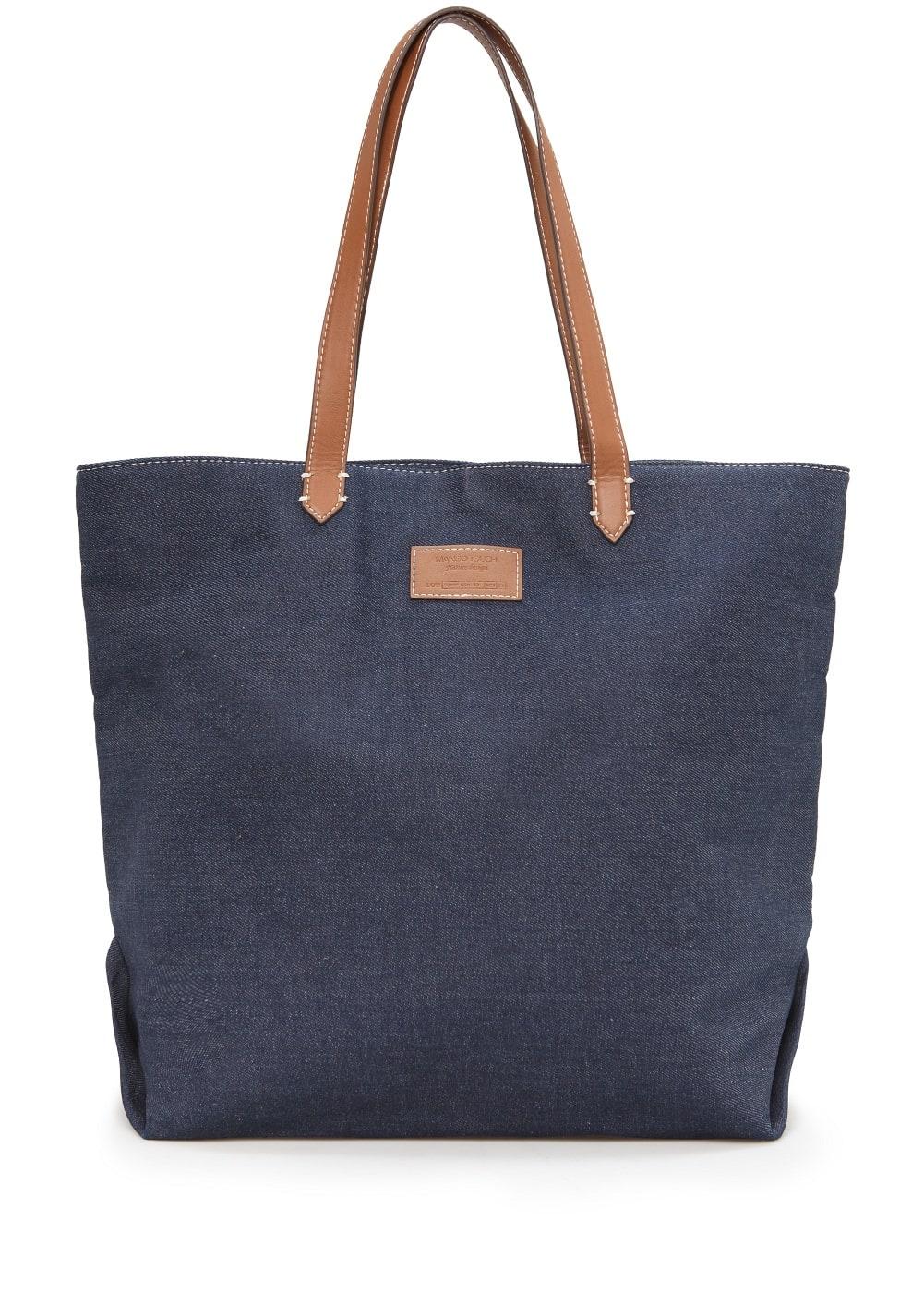 Contrast handle bag