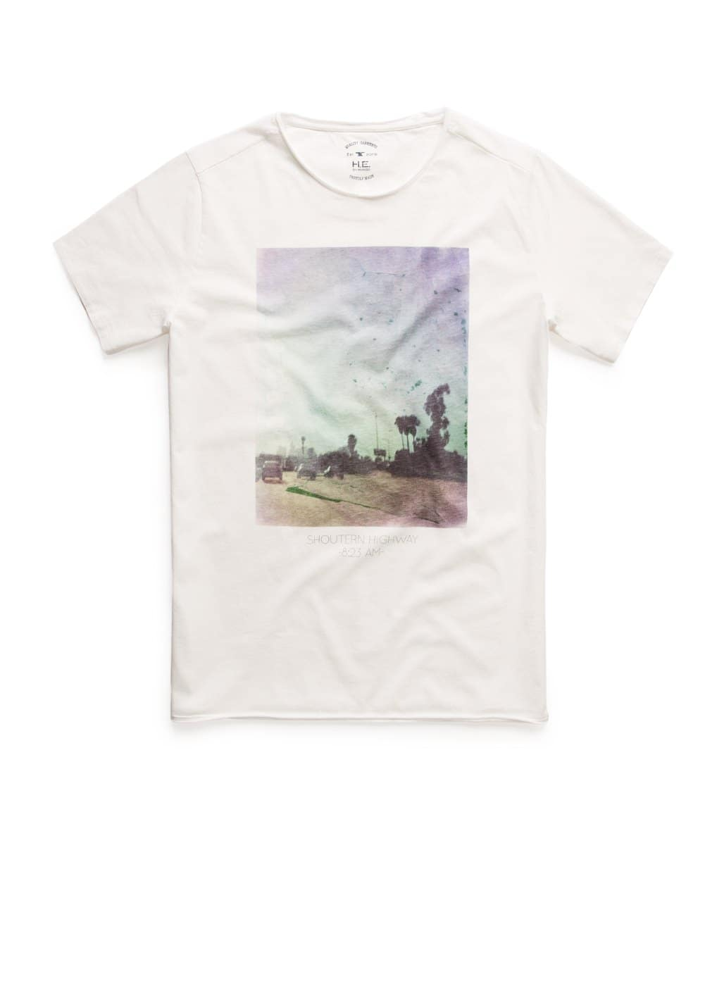 Highway t-shirt | MANGO MAN