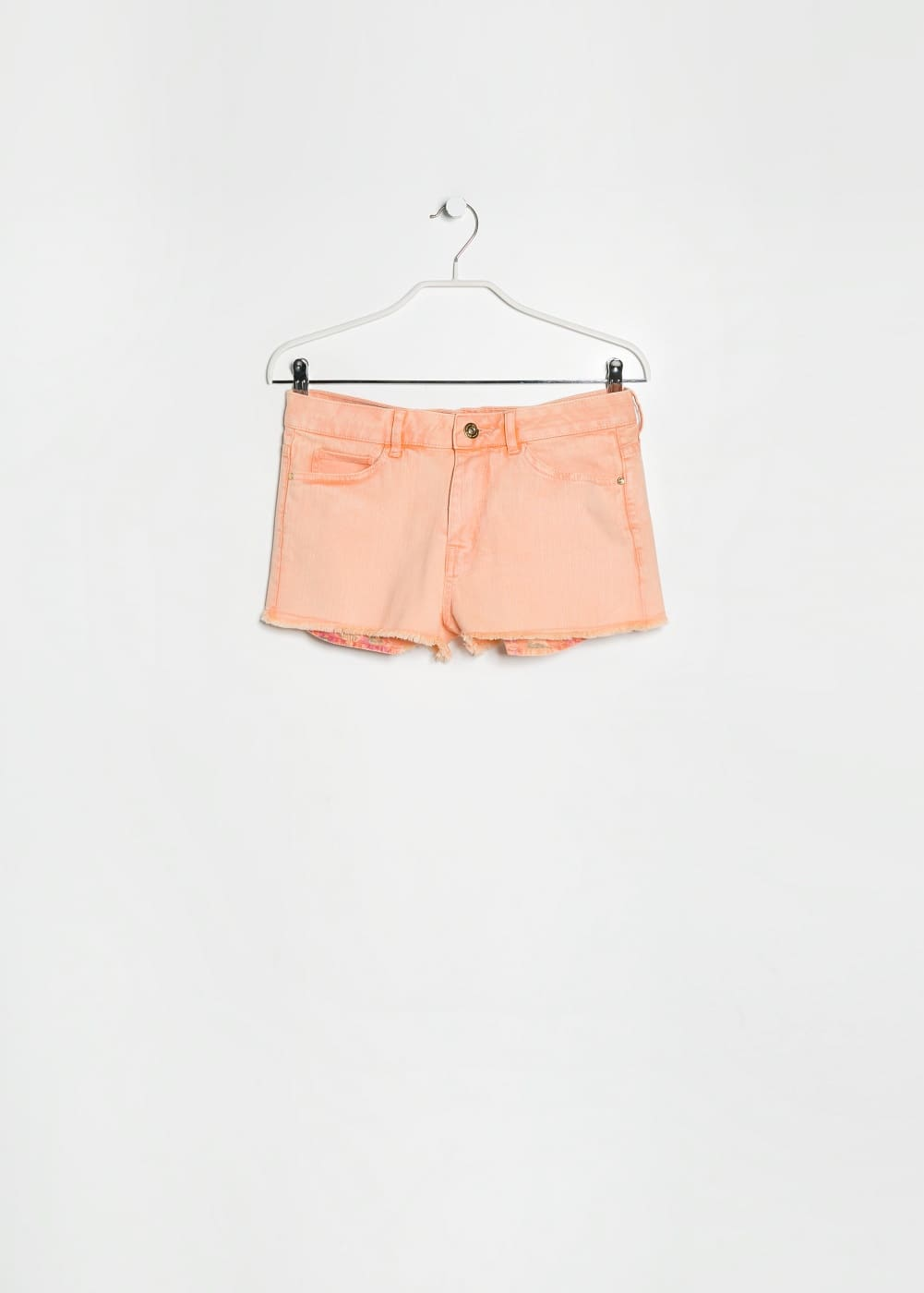 Short denim naranja