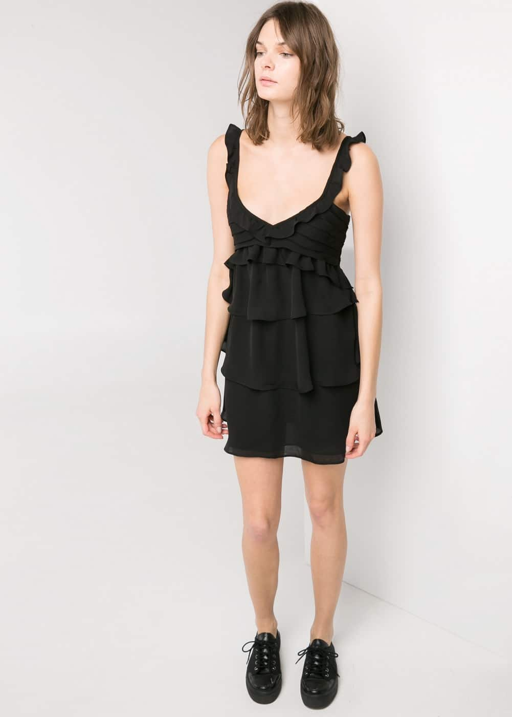 Ruffled dress | MANGO