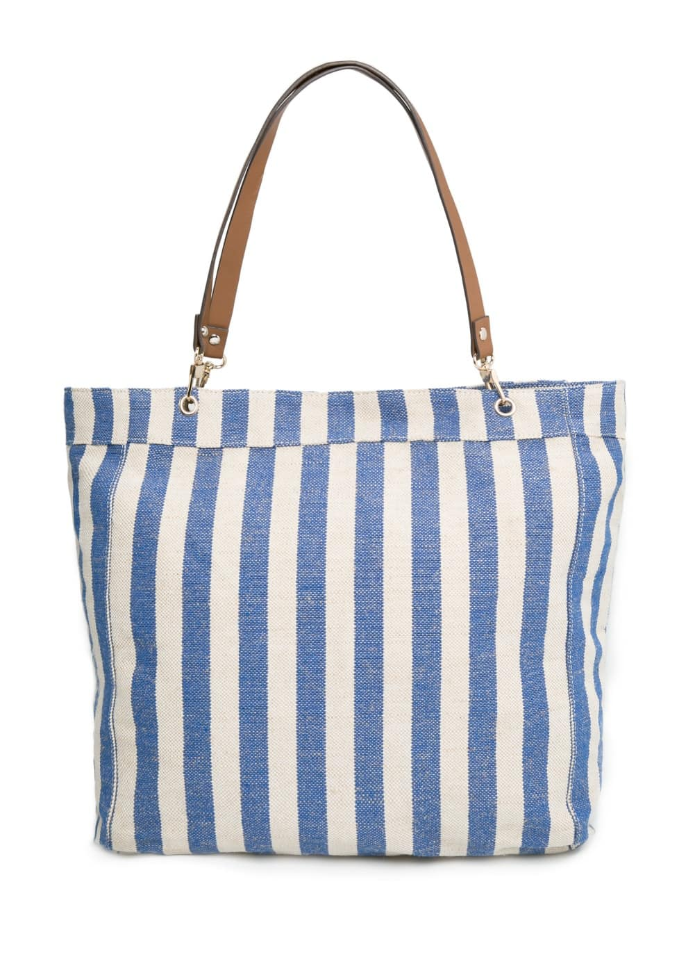 Jute-blend shopper bag