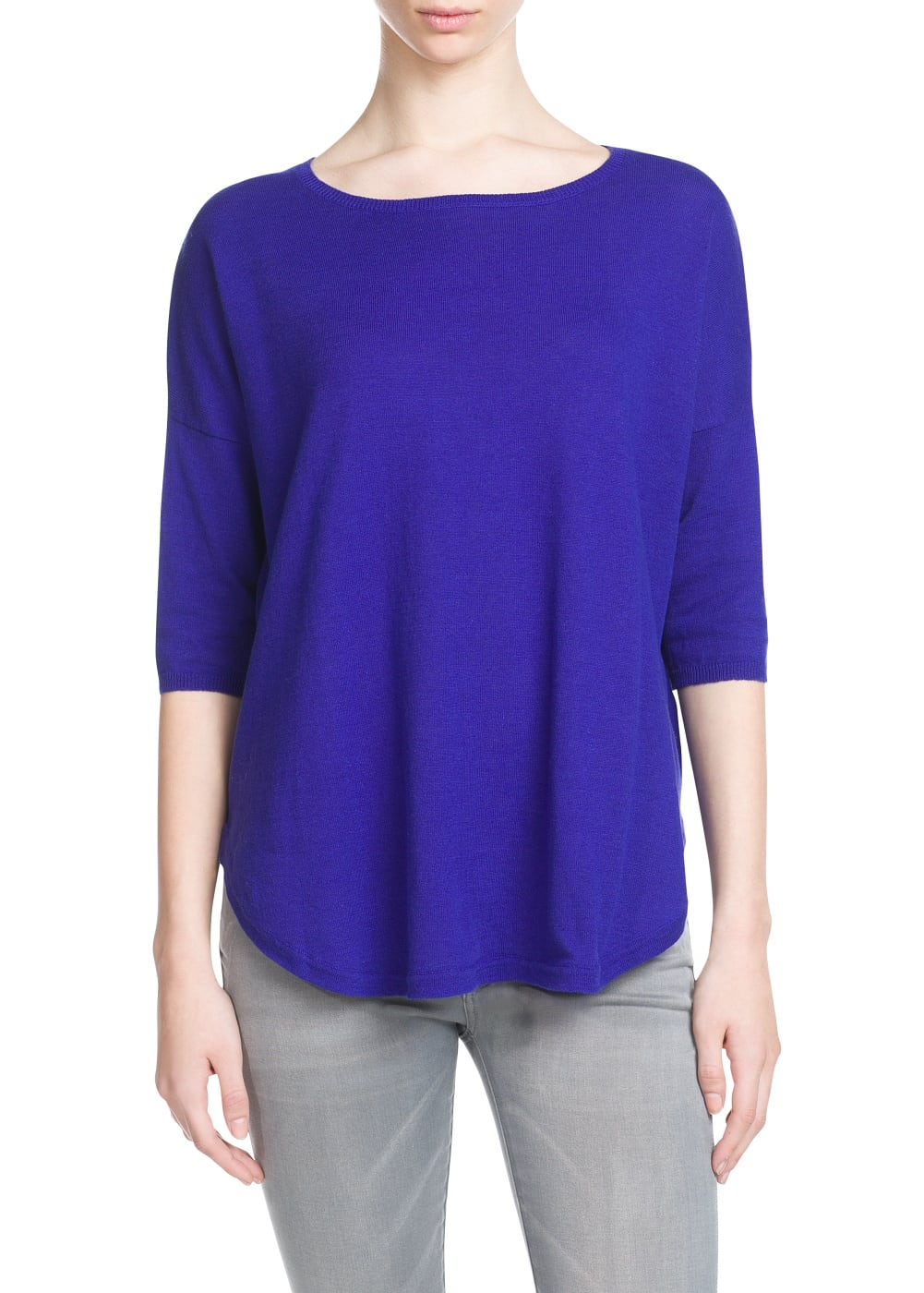 Pull-over manches chauve-souris