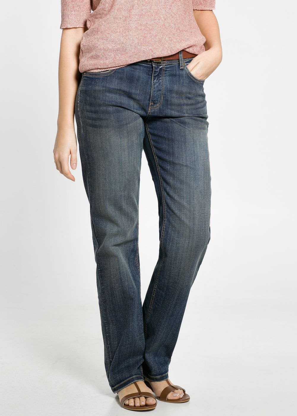 Ely straight-fit jeans