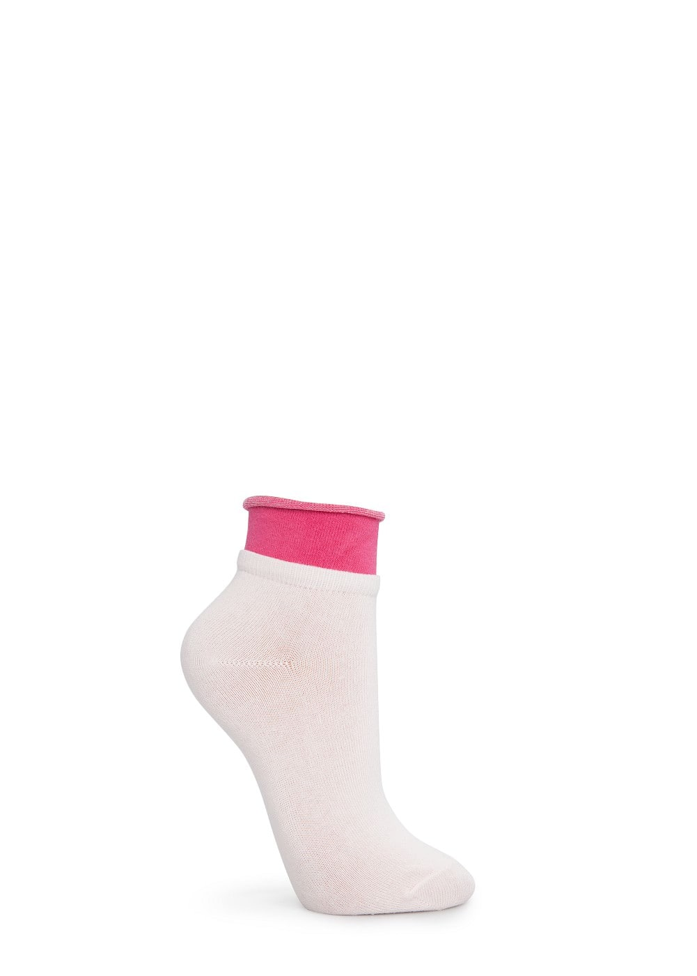 Double-layer ankle socks