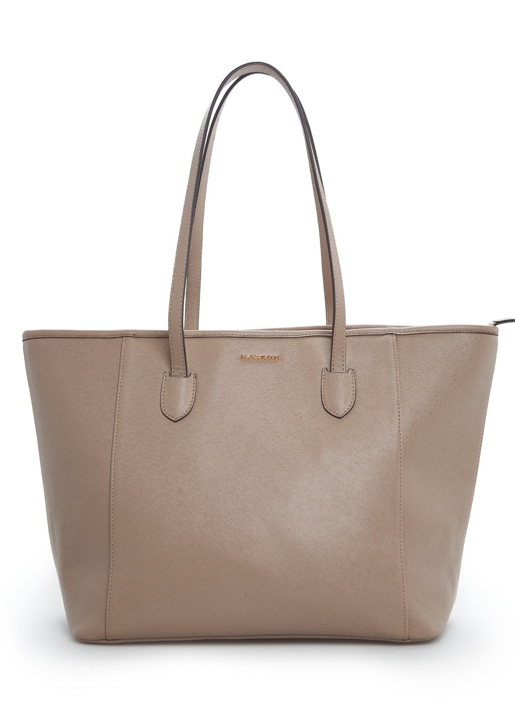 Saffiano-effect shopper bag | MANGO