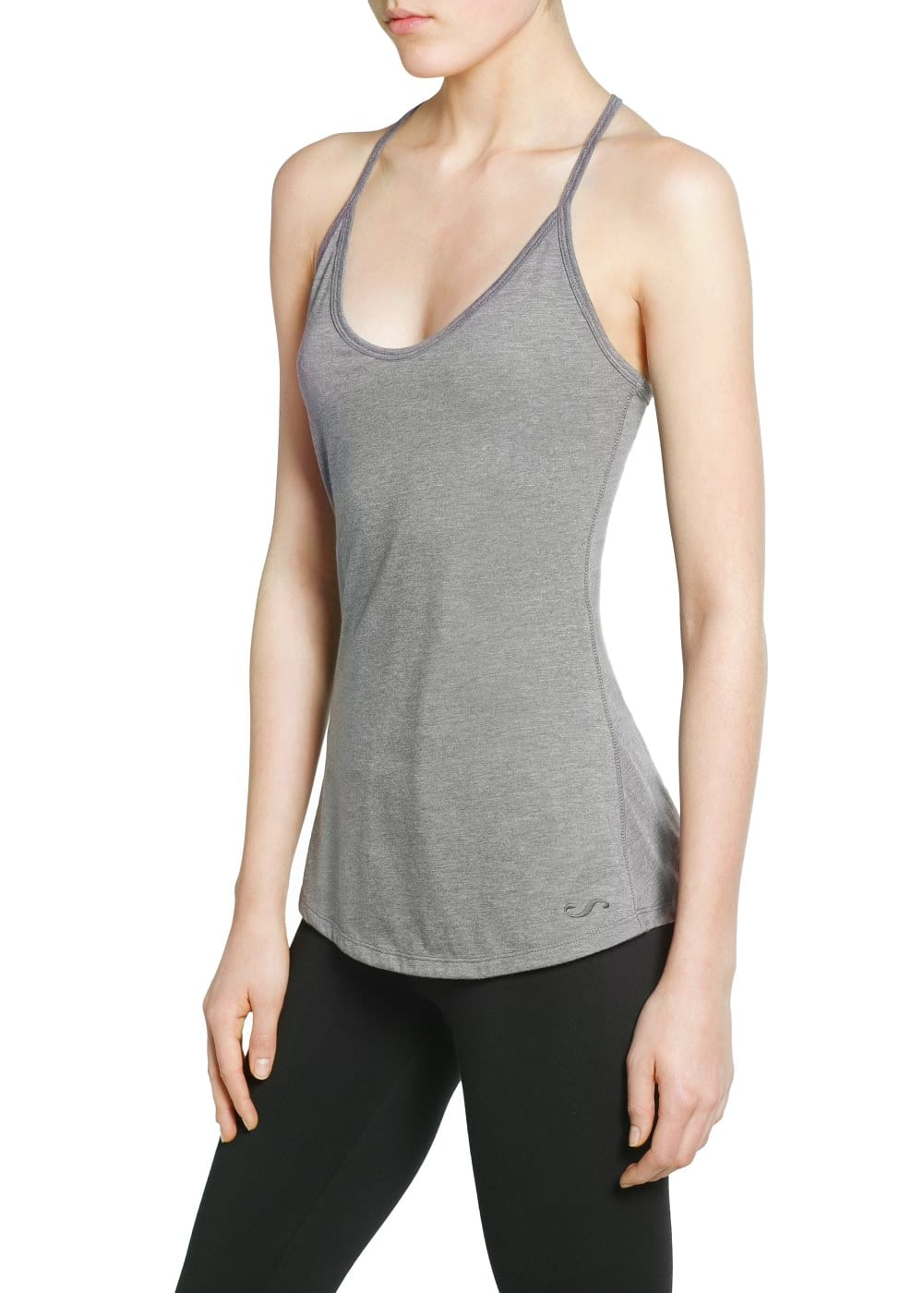 Yoga - T-shirt bretelles confort