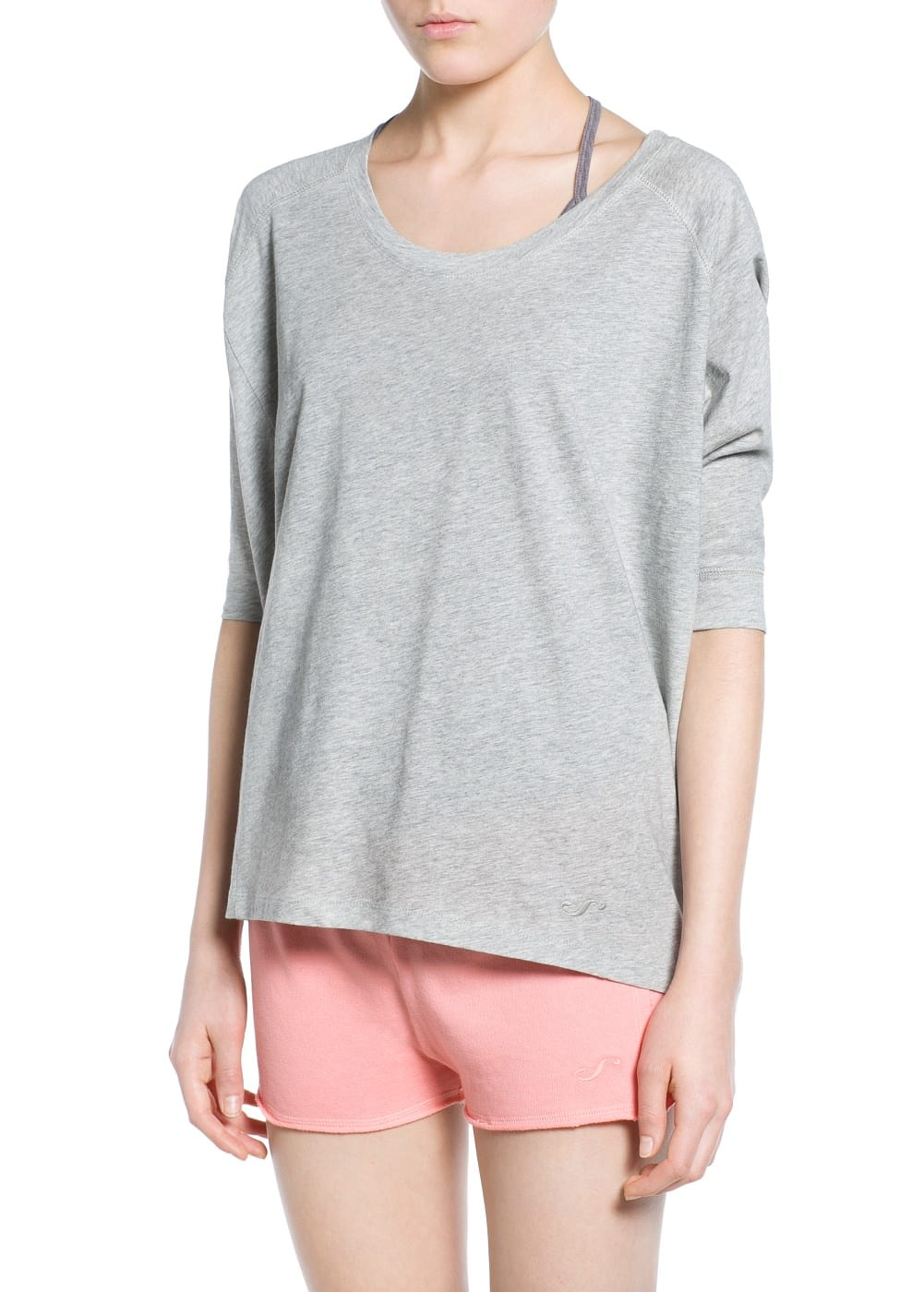 Yoga - soft sport t-shirt | MANGO
