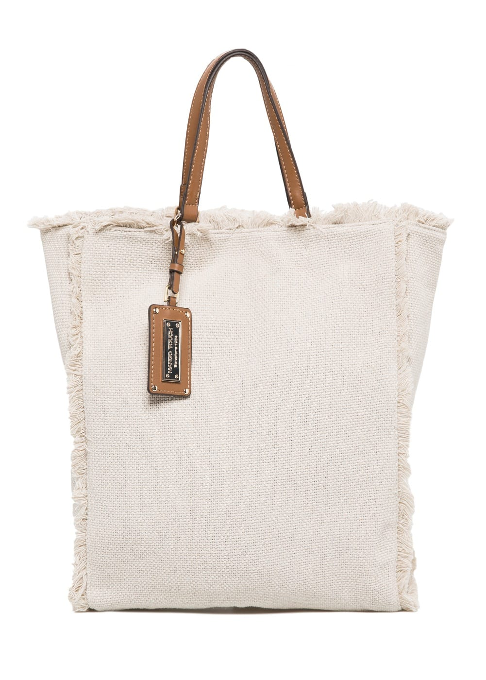Canvas shopper bag