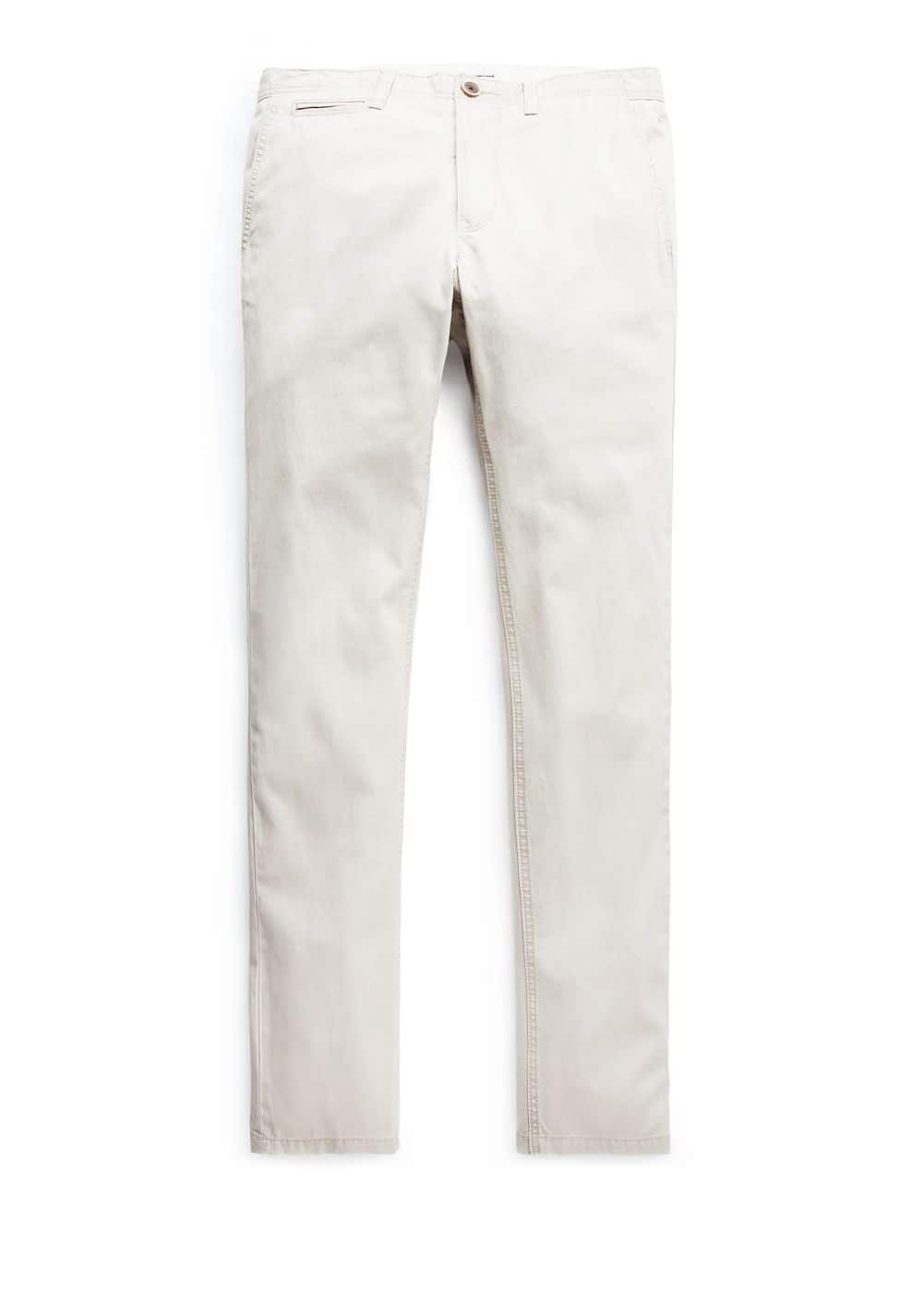 Chino straight-fit algodón