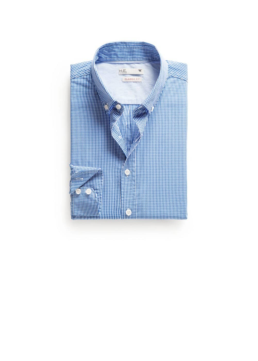 Camisa classic-fit cuadro vichy