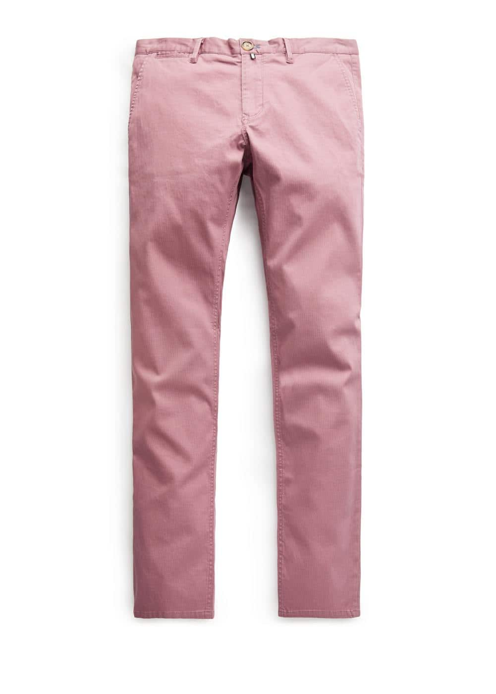 Chino slim-fit estrutura