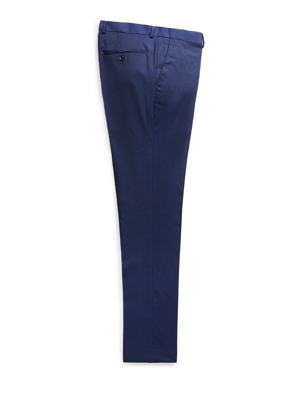 Pinstripe suit trousers