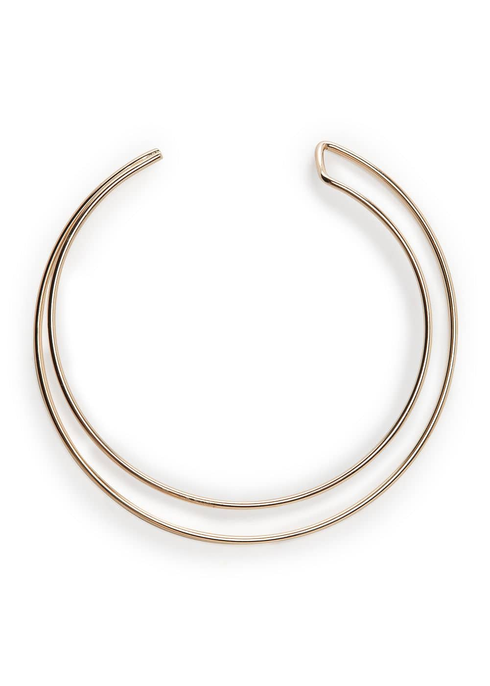 Metal double choker | MANGO