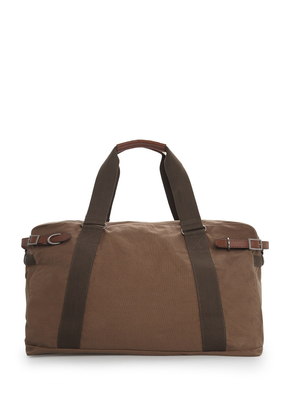 Canvas weekend bag | MANGO