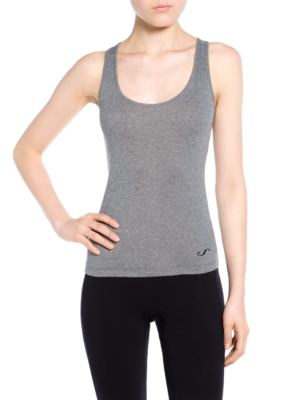 Yoga - weiches sport-shirt | MANGO