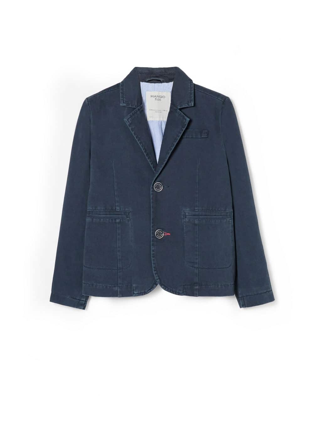 Cotton blazer | MANGO KIDS