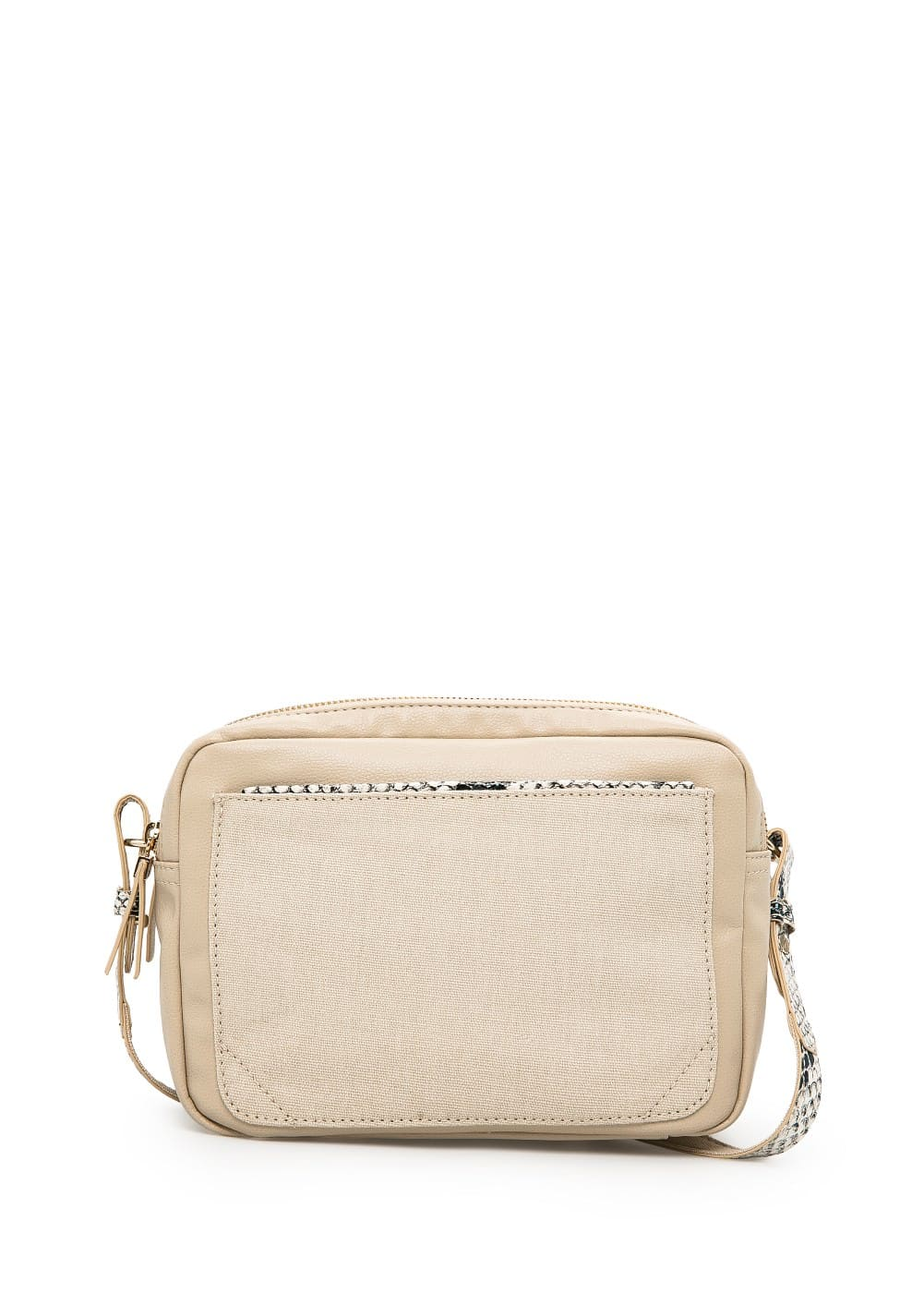 Trim cross body bag