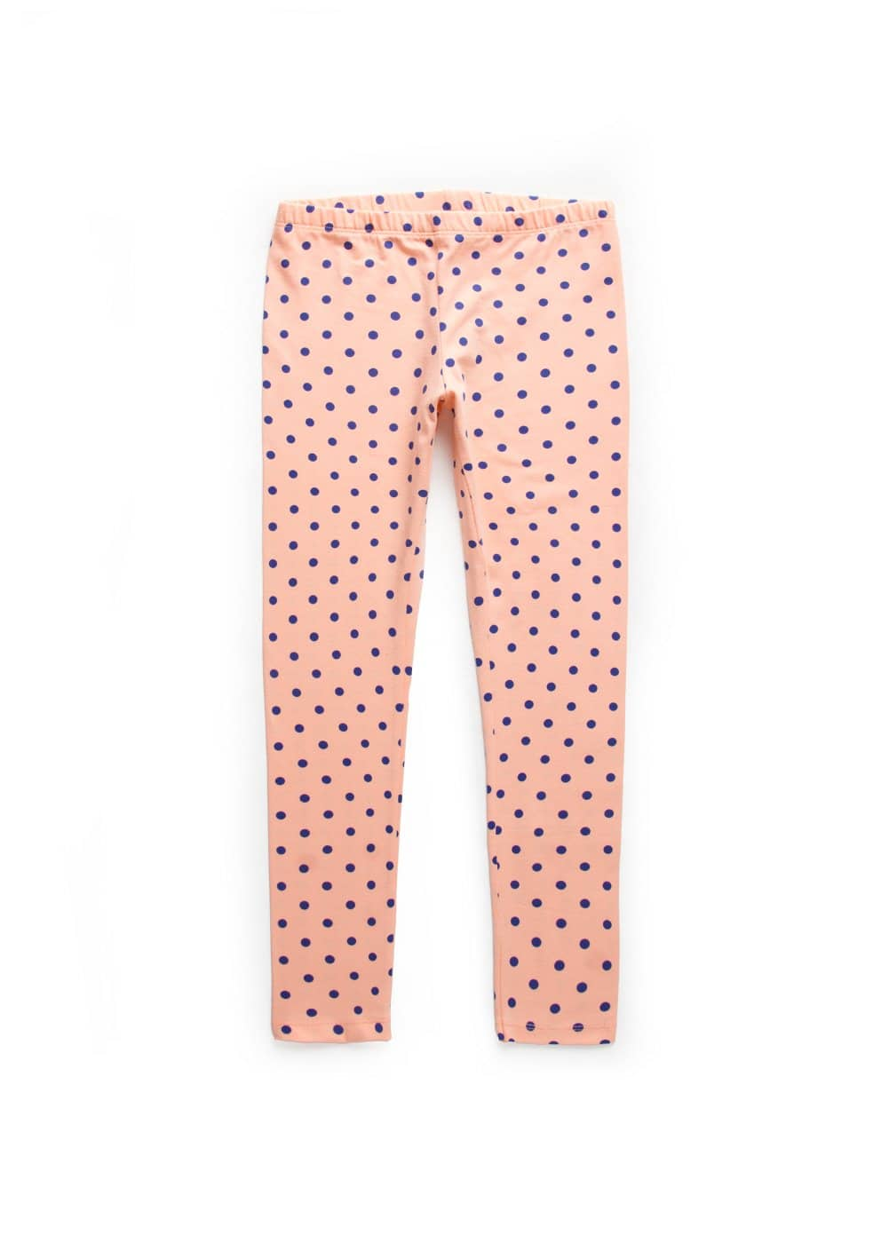 Polka-dot print leggings