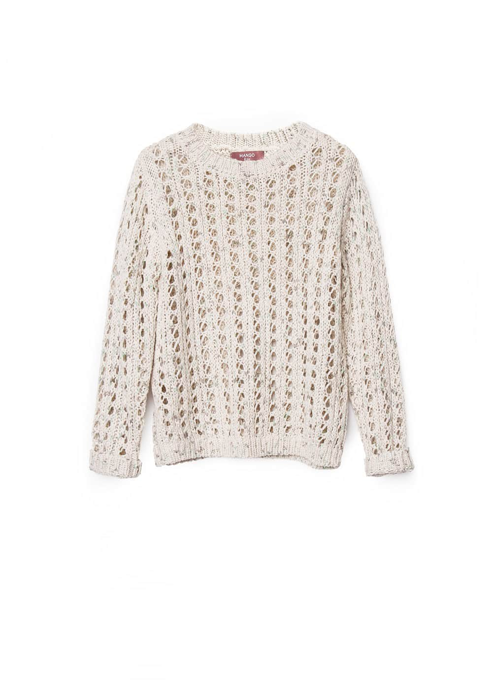 Openwork sweater | MANGO KIDS
