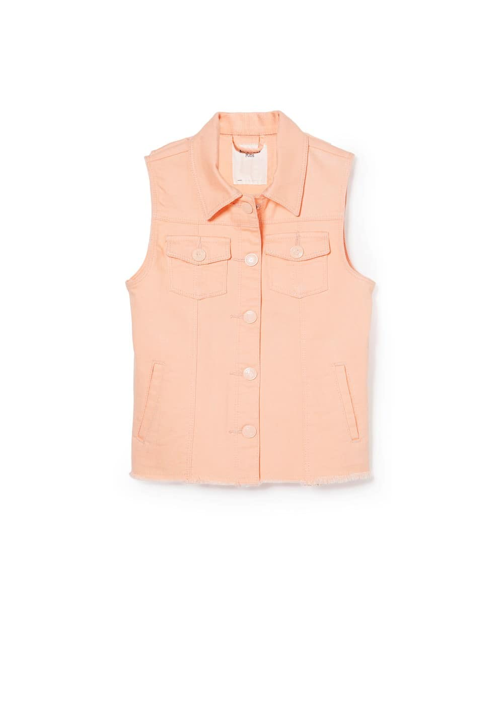 Denim vest | MANGO KIDS