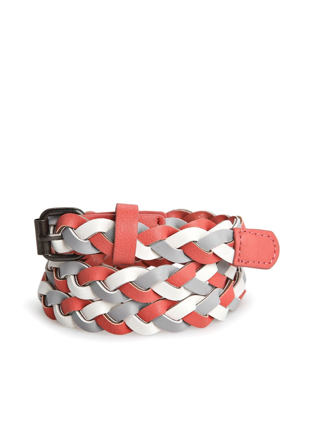 Braided skinny belt | MANGO KIDS
