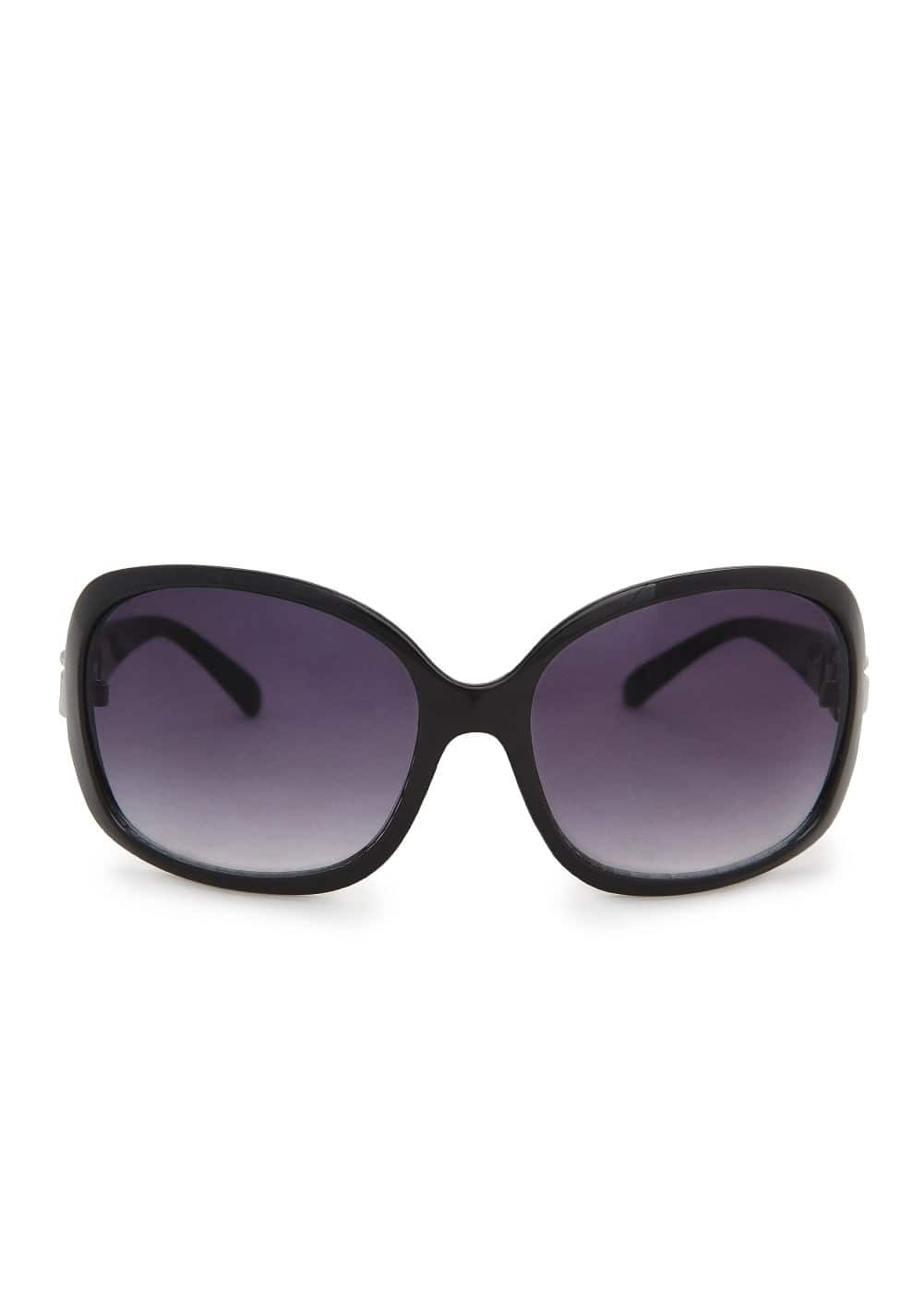 Chain appliqué sunglasses