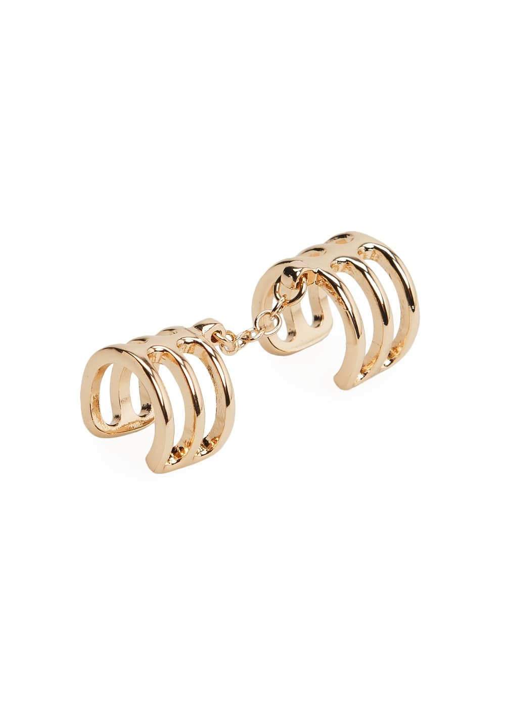 Chain double ring | MANGO