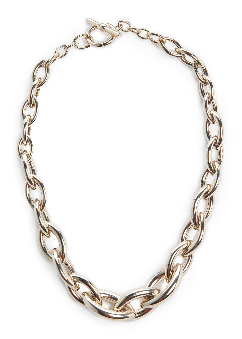 Metal link necklace | MANGO