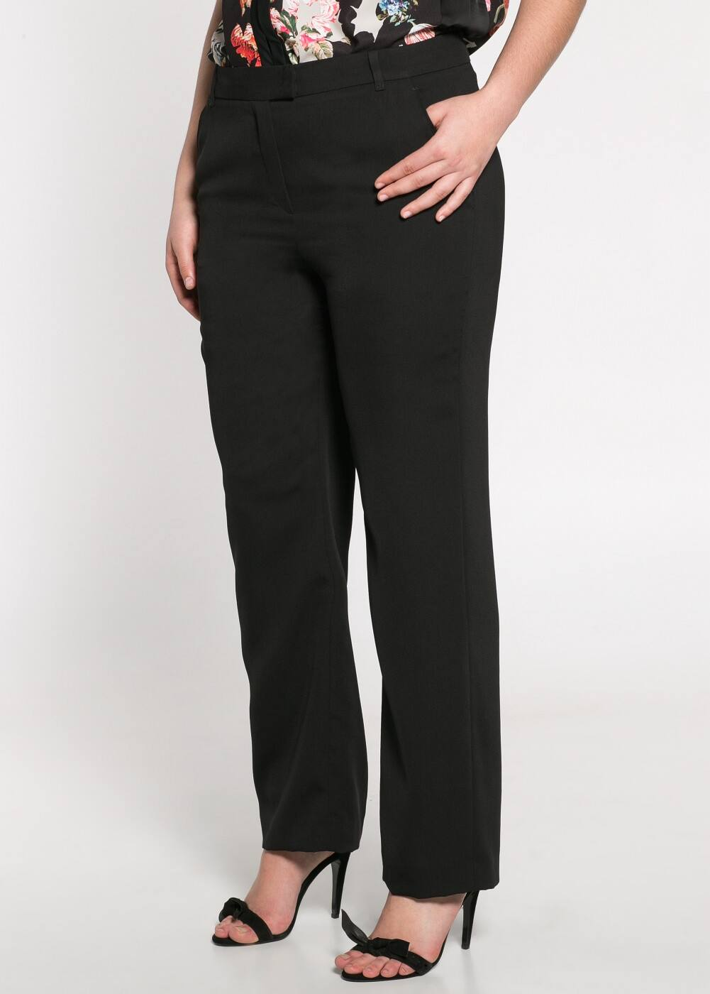 Flowy suit trousers