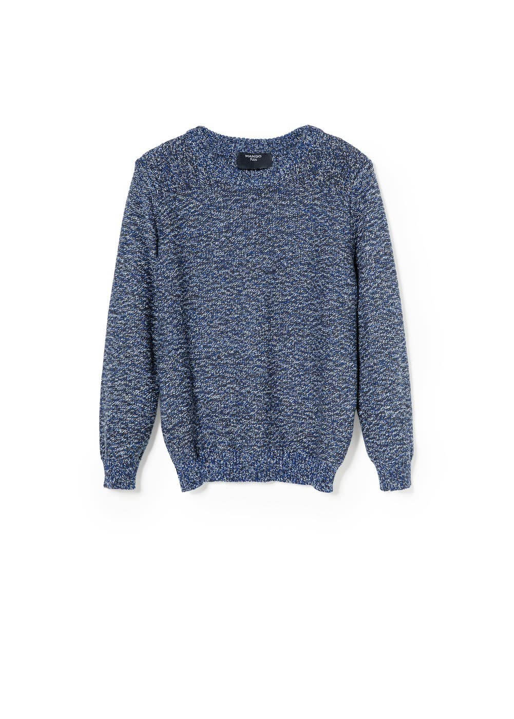 Flecked sweater