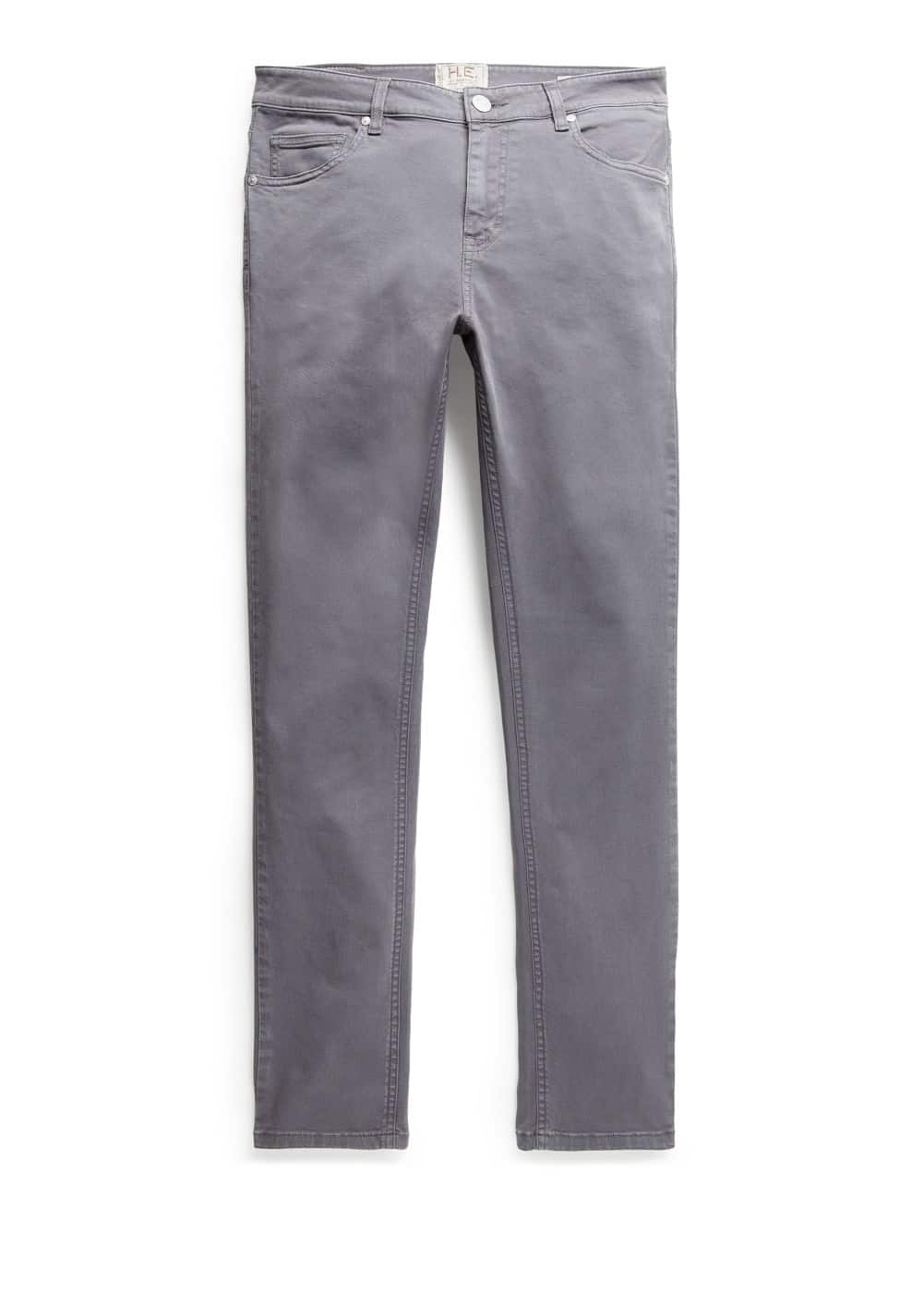 Super slim-fit grey patrick jeans | MANGO