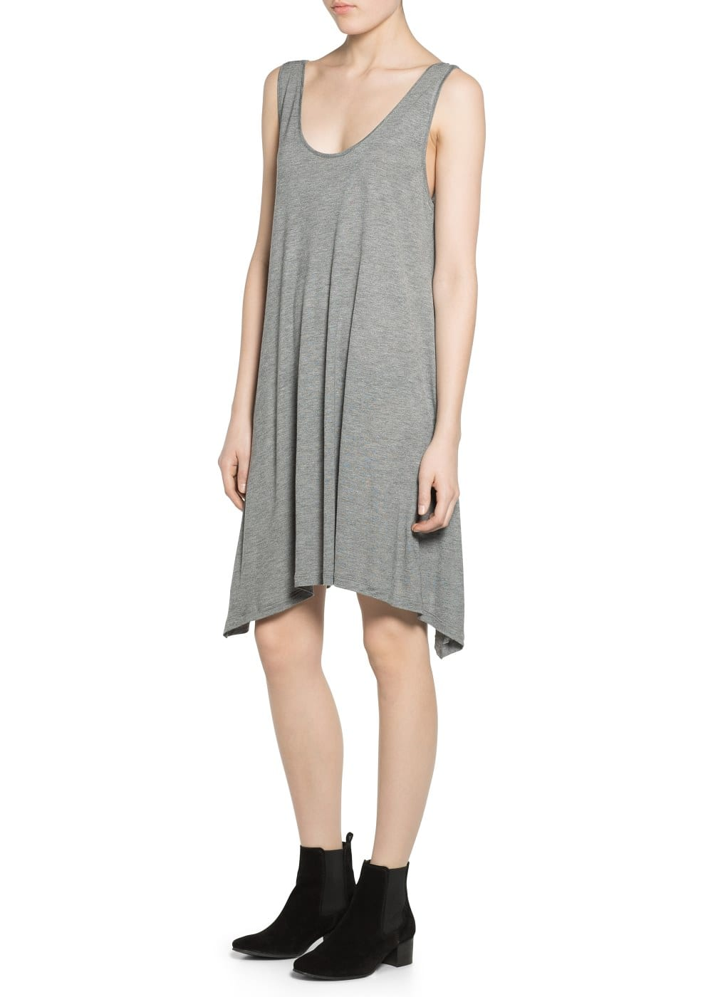 Lightweight strap dress | MANGO