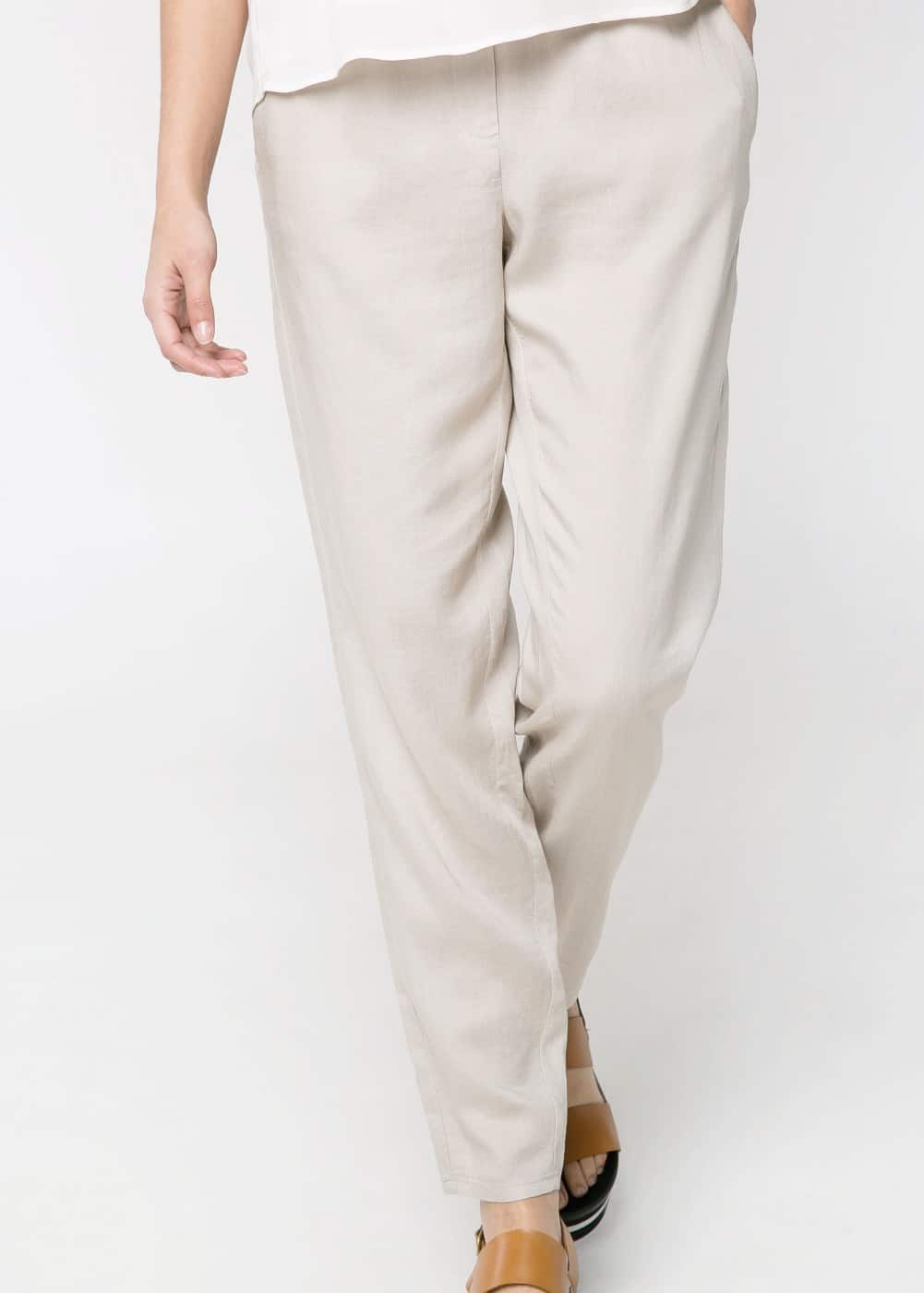 Tapered trousers | MANGO