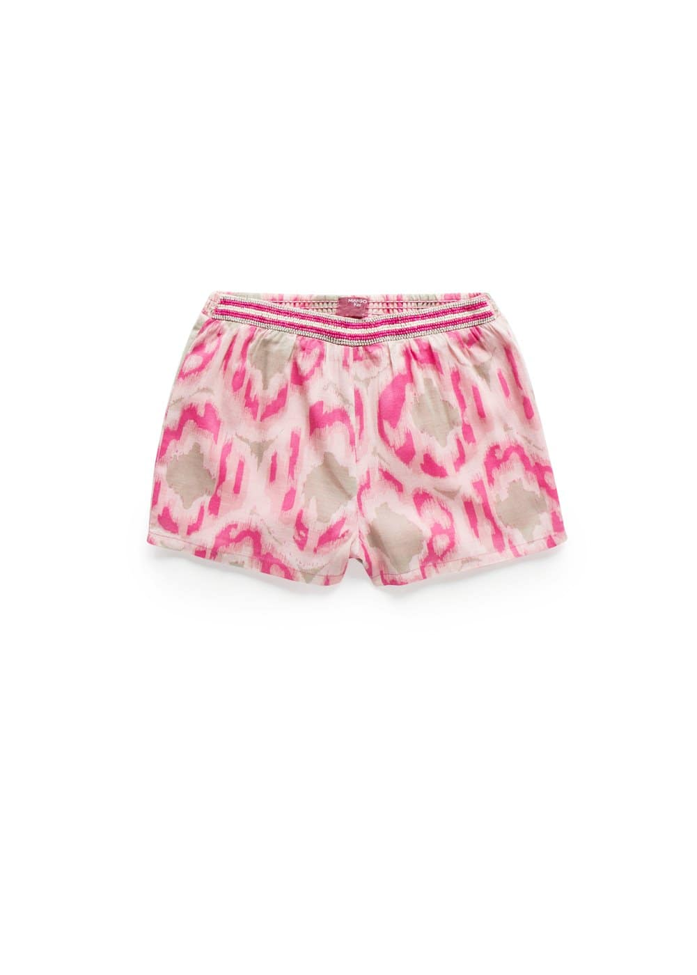 Ikat beaded short